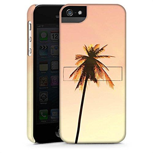 Apple iPhone X Silikon Hülle Case Schutzhülle Palmen Urlaub Sonne Premium Case StandUp