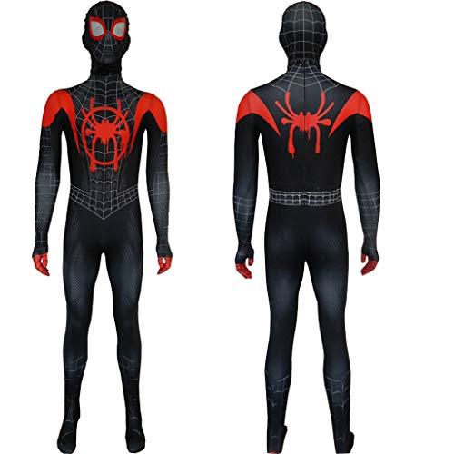 HYYSH Spider-Man Parallel Universe COS Kleidung Strumpfhose Boy Suit (Erwachsener, Kind) (größe : ()