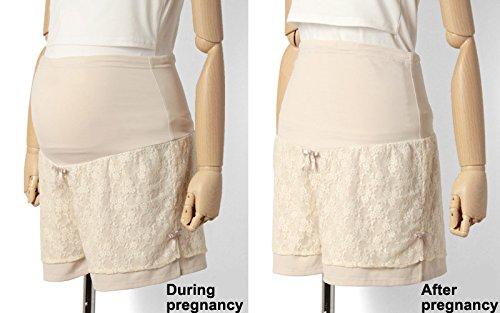 SP6006 Short / culotte de grossesse ed dentelle Black