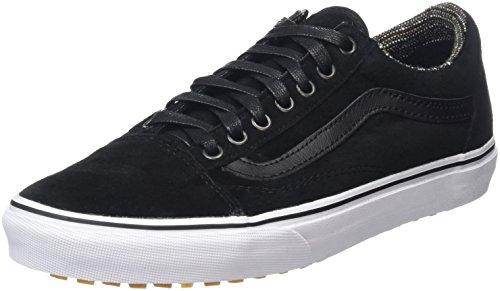 vans-old-skool-scarpe-da-ginnastica-basse-unisex-adulto-nero-mte-black-tweed-41-eu