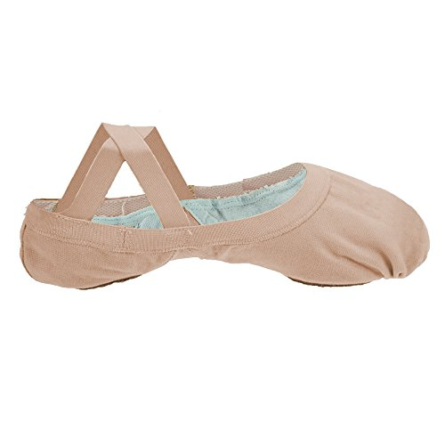 Bloch 621 Rosa Elastic Canvas Ballet 5.5L C Fitting