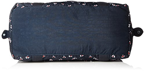 Kipling - ART M - Borsa da viaggio media - Black - (Nero) Multicolore (Small Flower Bl)