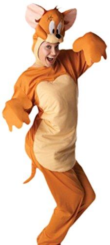 erdbeerloft - Damen Karnevalskomplettkostüm Maus Overall , L, (Maus Jerry Kostüme)