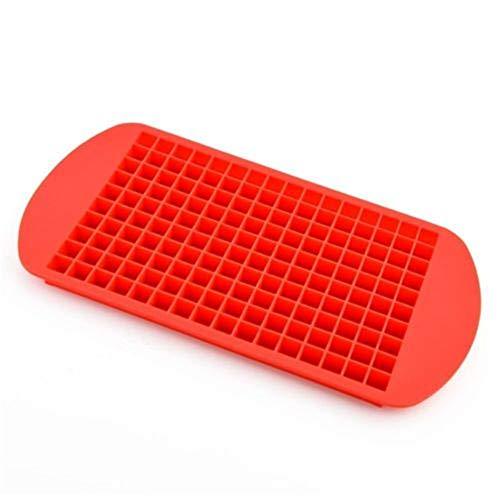 LIUYUNE,160-Quadratmeter Mini-Imbiss Grade Silicagel-Eisschale(color:ROT)