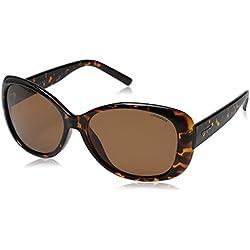 Polaroid PLD 4014/S HE V08, Gafas de Sol para Mujer, Marrón (Havana/Copper Pz), 57