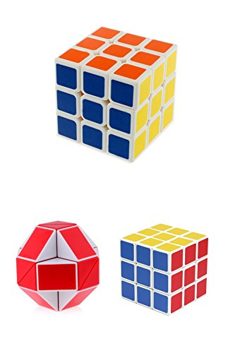 Varenyam Rubix Cube 3x3x3 Puzzle Cube, Stickerless, Smooth and Fast