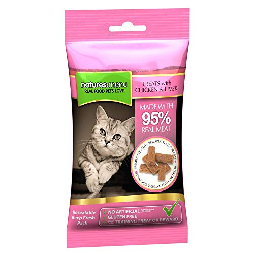 Natures Menu Cat Treats Real Meat Chicken & Liver 60g -
