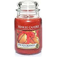 Yankee Candle Large Jar Candle, Spiced Orange