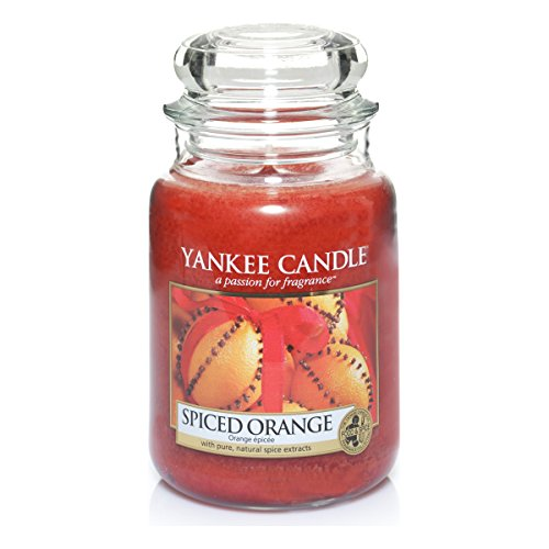 Yankee Candle Glaskerze, groß, Spiced Orange