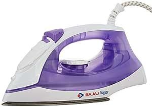 (Certified REFURBISHED) Bajaj Majesty MX 3 1250-Watt Steam Iron (White/Purple)