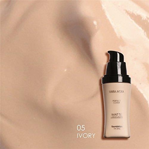 ROPALIA Matte Face Foundation Liquid Highlighter Concealer Oil-control Moisturizer Cream