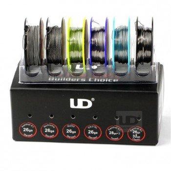 UD Wire Box Drähte für Selbstwickler Set (6 Spulen) von Youde