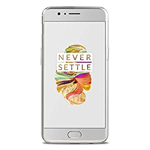Amazon Brand - Solimo OnePlus 5 Mobile Cover (Soft & Flexible Back case), Transparent