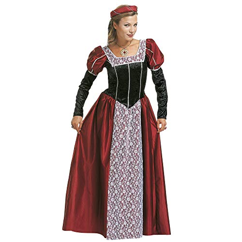 WIDMANN CS923548/M Costume da Castellana Dama Medievale, Medium
