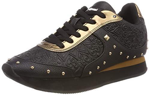Desigual Shoes_Galaxy Winter Valkiria, Baskets Basses Femme, Noir (Negro 2000), 39 EU