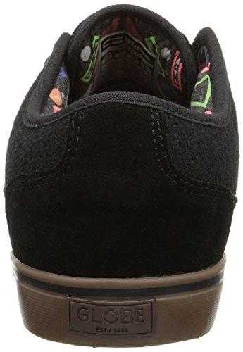 Globe  Mahalo,  Scarpe da skateboard uomo Black/Tobacco Gum