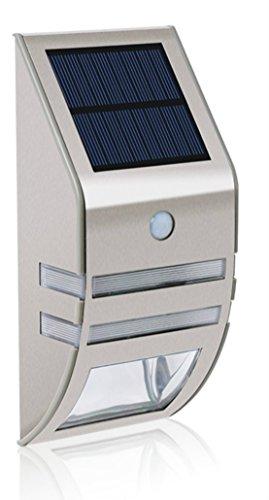Mianbaoshu,lampada a energia solare,con sensore di movimento,impermeabile led chiara,senza fili,lampada da esterno da applicare su parete di casa,scale o utilizzabile come decorazione giardino,ecc.