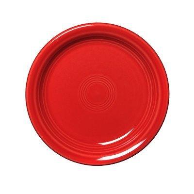 Fiestaware Scarlet Appetizer Plate 1461326 by Unknown Fiestaware