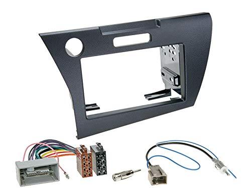 Kenwood-DMX125DAB-2-DIN-Digital-Media-Receiver-mit-DAB-Antenne-und-Einbaukit-passend-fr-Honda-CR-Z-ab-2010-schwarz