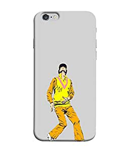 PrintVisa Cricket Player in Field 3D Hard Polycarbonate Designer Back Case Cover for Apple iPhone 6s Plus :: Apple iPhone 6s+