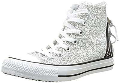 Converse Chuck Taylor All Star Femme Animal Tri Zip Hi 382120 Damen Sneaker