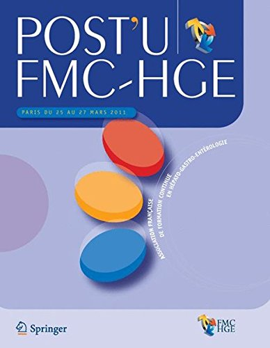 Post'U FMC-HGE : Paris du 25 au 27 mars, 2011