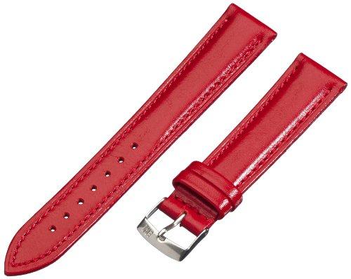 Morellato cinturino in pelle unisex musa rosso 20 mm a01x3935a69083cr20