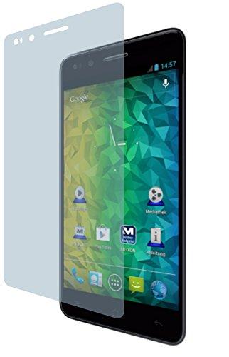 4ProTec Medion Life P5004 (4 Stück) Premium Bildschirmschutzfolie Displayschutzfolie kristallklar Schutzhülle Bildschirmschutz Bildschirmfolie Folie