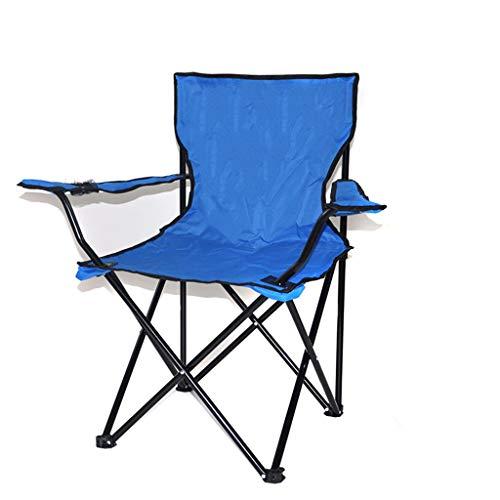 Djdl sedie pieghevole sedia pieghevole per esterni/portatile da campeggio sedia da campeggio oxford panno leggero sedile da picnic all'aperto spiaggia sedia colorata (colore : a)