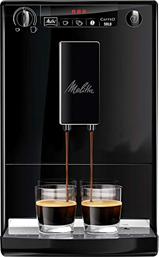 Melitta Caffeo Solo Macchina per Caffé Automatica, 1400 W, 2 Cups, plastica, Nero (Ricondizionato)
