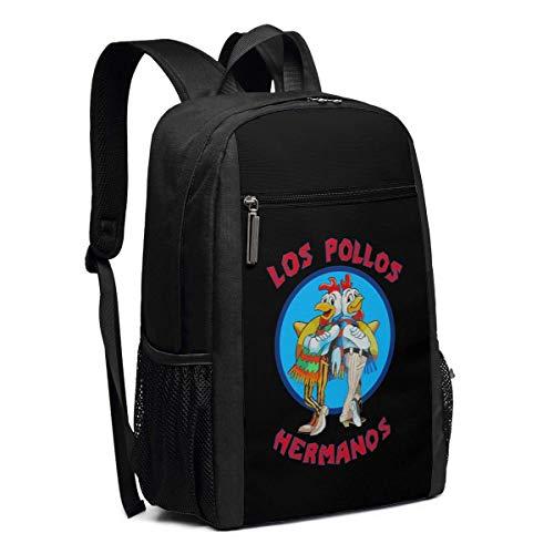 Schulrucksack, Travel Hiking Los Pollos Hermanos Backpacks Waterproof Big Student College High School Laptop Shoulder Bag Outdoor Backpacks for Men Women Adults (Laptop-computer 50 Dollar Unter)