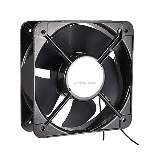 ZCHXD Cooling Fan 200mm x 200mm x 60mm FP-20060EX-S1-B AC 220V/240V 0.45A Dual Ball Bearings (Fan Ac 60mm)