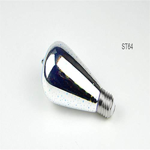 Lámpara de mesa efecto fuegos artificiales LED bombilla retroiluminación 3D 110V -...