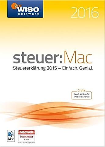 WISO steuer:Mac 2016 (für Steuerjahr
