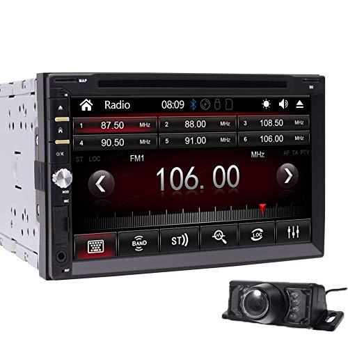 EINCAR kapazitive Multi-Touch-Screen-Audio Autoradio Monitor 2 Din im Schlag-Video-CD-Auto-DVD-Player USB SD Radio Receiver Bluetooth-Steuergerät Autoradio 7