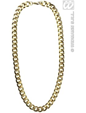 Gold Necklaces 70s Jewellery for Fancy Dress Costumes Accessories Accessory