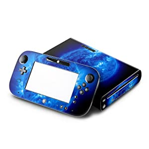 Nintendo Wii U Skin – Konsole + Controller Gamepad Aufkleber Design Sticker Schutzfolie Set – Blue Giant