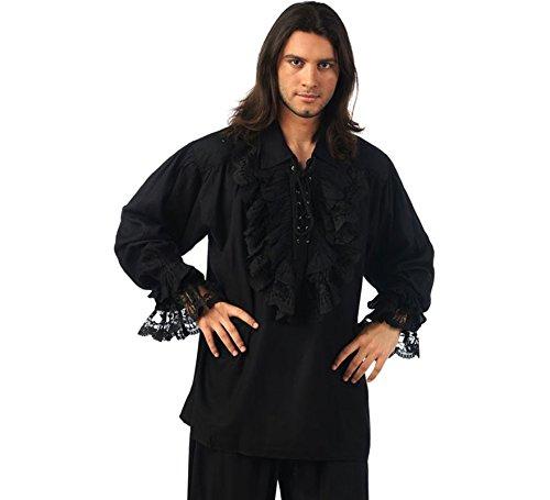 Limit Sport- Camisa Negra Encaje, Multicolor, grande (limitsport 1)