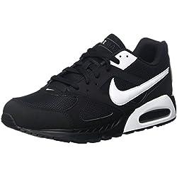 Nike - Air Max Ivo - , homme, Nero (Black/White/Black), 45 EU