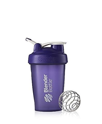 BlenderBottle Classic Loop Shaker | Eiweiß Shaker | Diät Shaker | Protein Shaker mit Blenderball lila 590ml