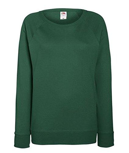 ATELIER DEL RICAMO - Sweat-shirt - Femme * Vert bouteille