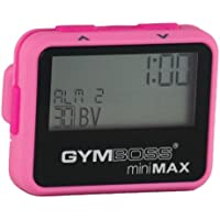 Gymboss miniMAX Interval Timer and Stopwatch - PINK / PINK SOFTCOAT