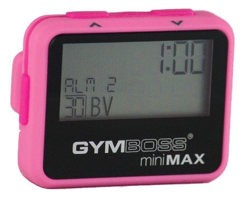Gymboss Minimax Intervallzeitgeber Und Stoppuhr Pink / Pink Softbeschichtung