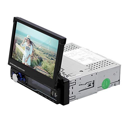 lā vestmon Bluetooth de Radio de Coche Auto Radio Audio USB//SD//FM//Reproductor de mp3 Incorporado EQ MP3/Reproductor de Radio AUX de Entrada Receptor con 4/Altavoces Incorporado
