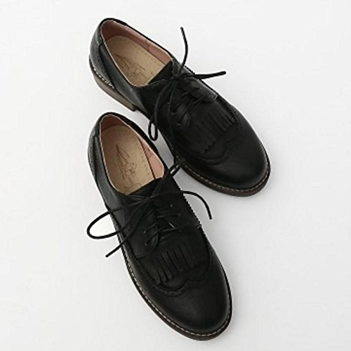 TAOFFEN Donne Primavera Oxfords Black