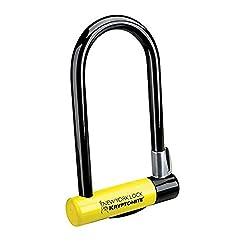 Kryptonite New York Standard Lock With Flexframe Bracket - Blackyellow