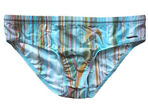 Solar Schwimmhose, Badehose Functional Fashion türkis/braun Größe 7 (XL)