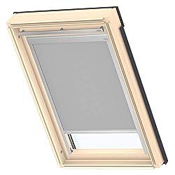 VELUX Verdunklungsrollo Classic Dachfenster, M06, 306, Grau