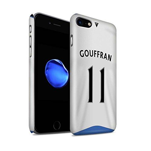Officiel Newcastle United FC Coque / Clipser Brillant Etui pour Apple iPhone 7 / Pack 29pcs Design / NUFC Maillot Domicile 15/16 Collection Gouffran