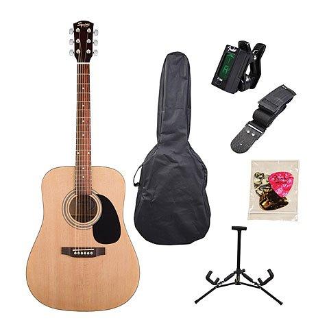 guitares-acoustiques-squier-by-fender-sa-105-natural-housse-folk